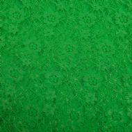Floral Lace Kelly Green